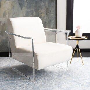 Fowey Acrylic Armchair by Orren Ellis