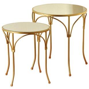 Aptos 2 Piece End Table Set by Mercer41