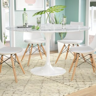 Julien Artificial Marble Round Dining Table