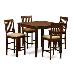 Givens 5 Piece Counter Height Dining Set by Thre..