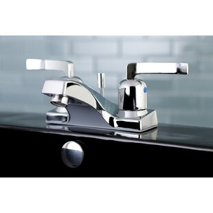 Kingston Brass Centurion Centerset Bathroom Faucet with Drain Assembly