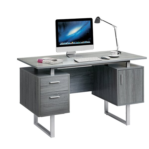 conlon modern office desk reviews allmodern