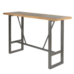 Marten Iron Bar Table By Brayden Studio