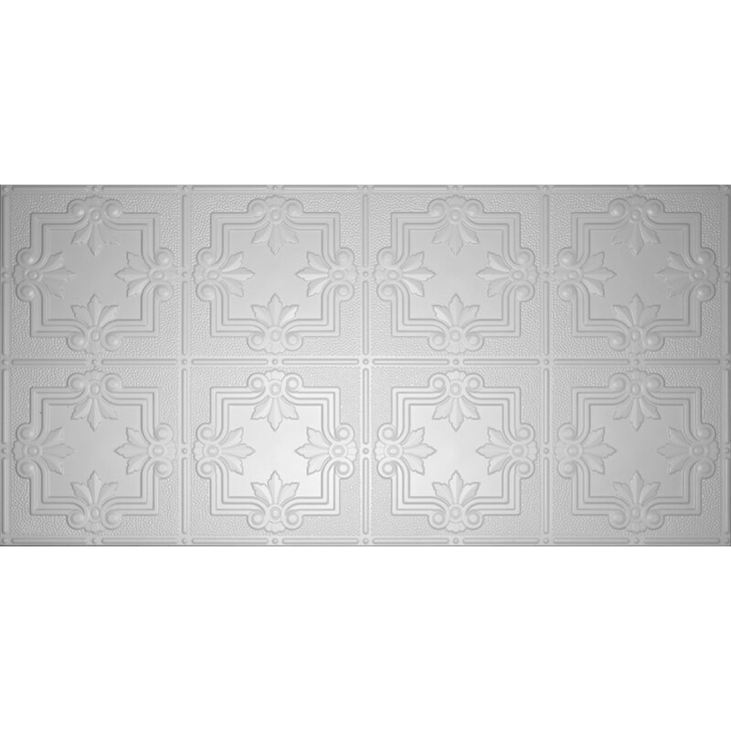 Global Specialty Products Glue Up Fleur De Lis Pattern 2 X 4 Tin