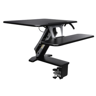 Symple Stuff Jowers Sit To Stand Medium Workstation Standing Desk