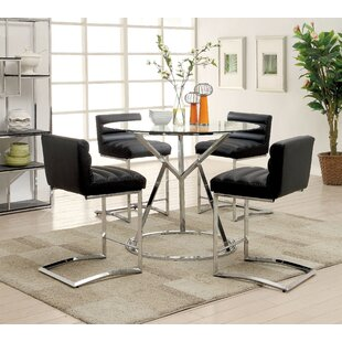 Destan 5 Piece Counter Height Dining Set Orren Ellis