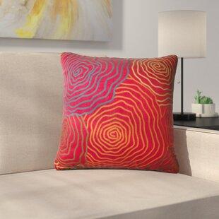 Willett Geranium Throw Pillow