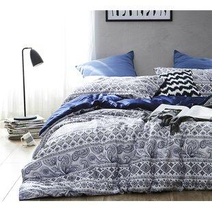 Bungalow Rose Padro 100% Cotton Reversible Bedding Set