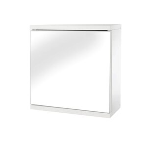 Klos Single Door 11.8 x 11.8 Surface Mount Medicine Cabinet by Ebern Designs