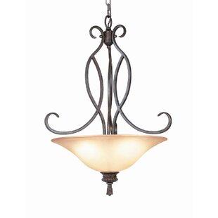 Woodbridge Lighting Fairhaven 3-Light Bowl Pendant
