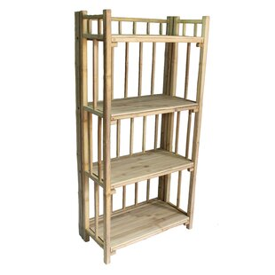Cristopher 4 Tier Standard Bookcase by Bay Isle Home