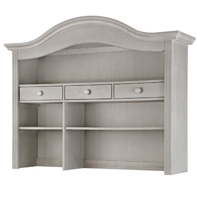 3 Drawer Hutch Baby Appleseed Color: Morning Mist