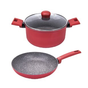 Germanos 2 Piece Non-Stick Cookware Set
