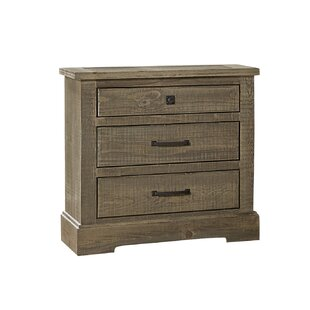 Arthurs 3 Drawer Nightstand by Lark Manor