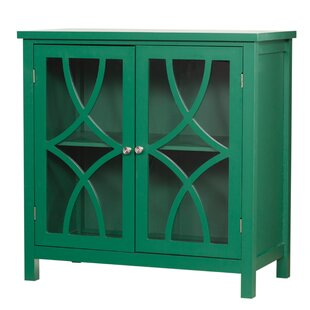 Three Posts Henley Display Accent Cabinet