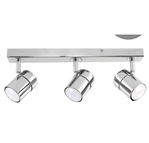Lacey 3-Light Ceiling Spotlight Zipcode Design Fixture