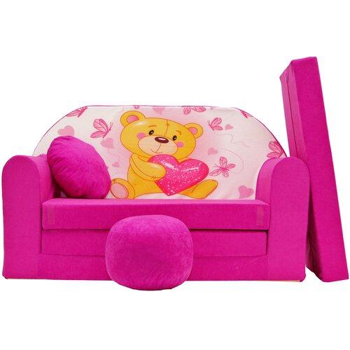 Kindersofa Delavan mit Pouf Roomie Kidz | Kinderzimmer > Kindersessel & Kindersofas | Roomie Kidz
