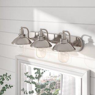 Beachcrest Home Emory 3-Light Vanity Light