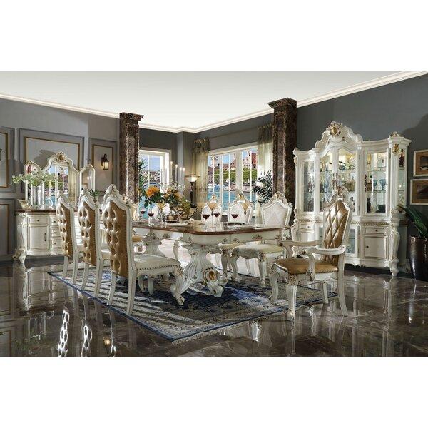 House Of Hampton Delores 9 Pieces Extendable Dining Set Wayfair