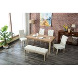 Galsworthy 6 Piece Dining Set by Bungalow Rose
