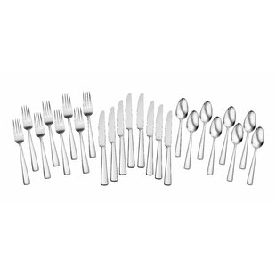 Chef's Table Dining 24 Piece Flatware Set, Service for 8