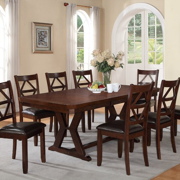 Extending Dining Room Table Beauteous Red Barrel Studio Beaver Creek Extendable Dining Table & Reviews Inspiration Design