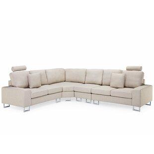 Goggans Modular Corner Sofa By Ebern Designs