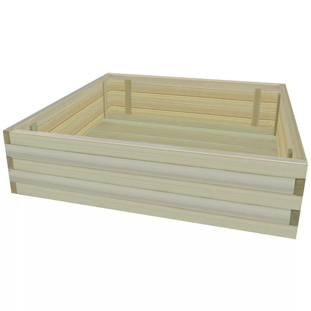 Garden Raised Vegetable Wood Planter Box