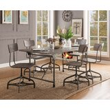 Chicago 7 Piece Dining Set by Williston Forge