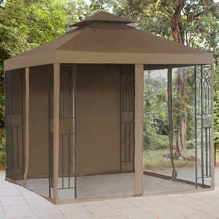 Replacement Mosquito Netting And Panel For Crawford Gazebo