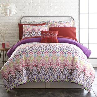 Cayeman Reversible Comforter Set by Bungalow Rose