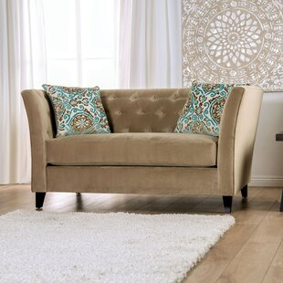 Driver Tufted Loveseat