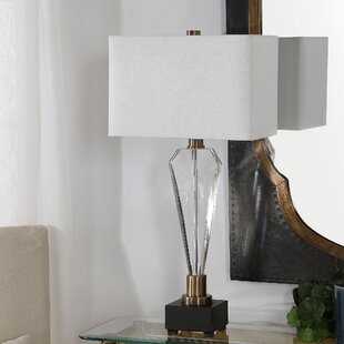 Hopedale Geometric Crystal 30 Table Lamp