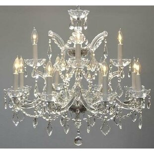 Lolley 13-Lights LED Candle Style Chandelier by Astoria Grand