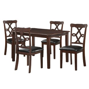 Glidden 5 Piece Dining Set by Fleur De Lis Living