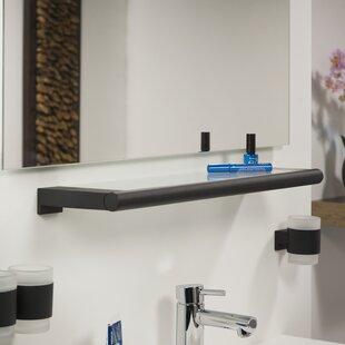 Teresa Glass Floating Wall Shelf