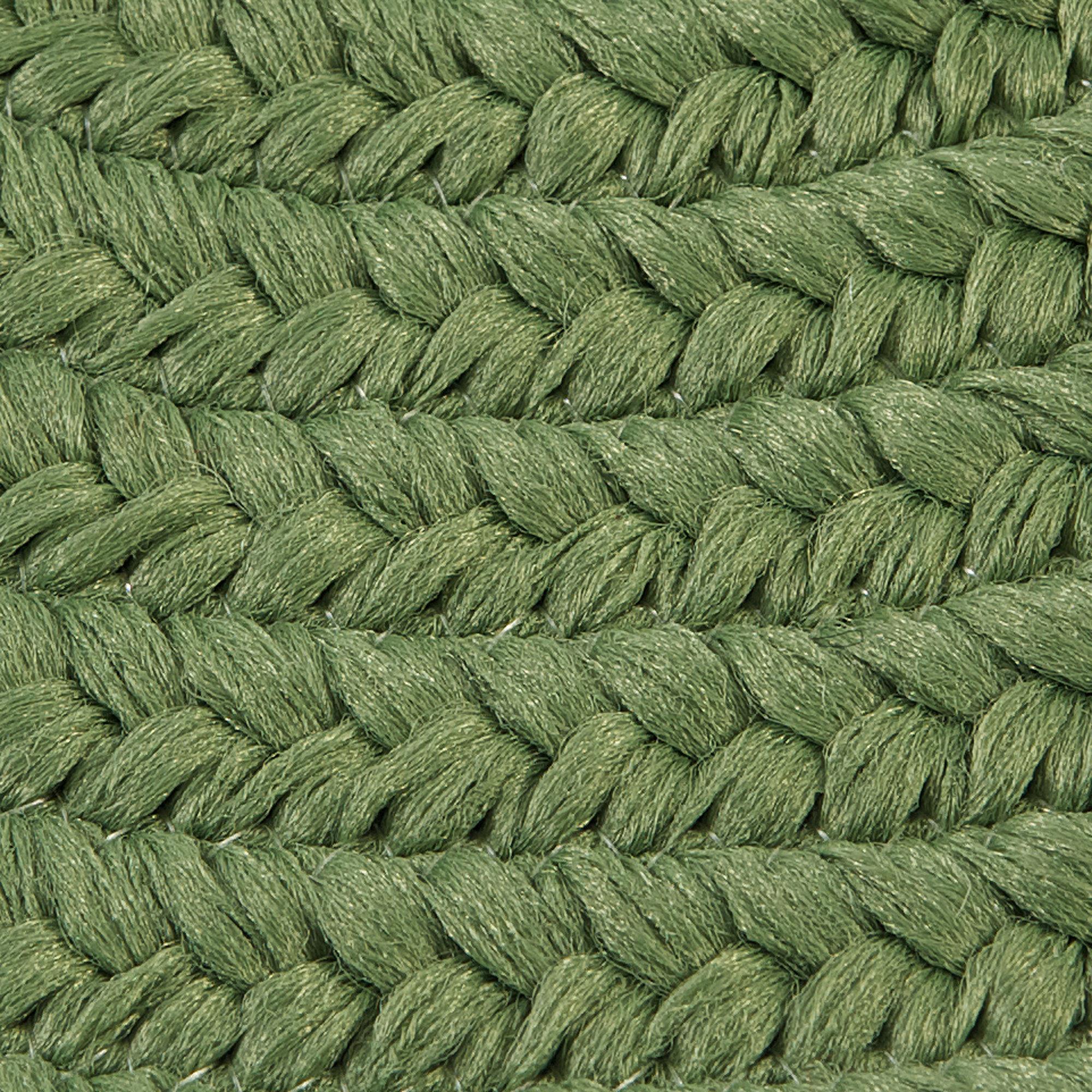 Charlton Home Ashlee Reversible Hand Braided Green Area Rug Wayfair