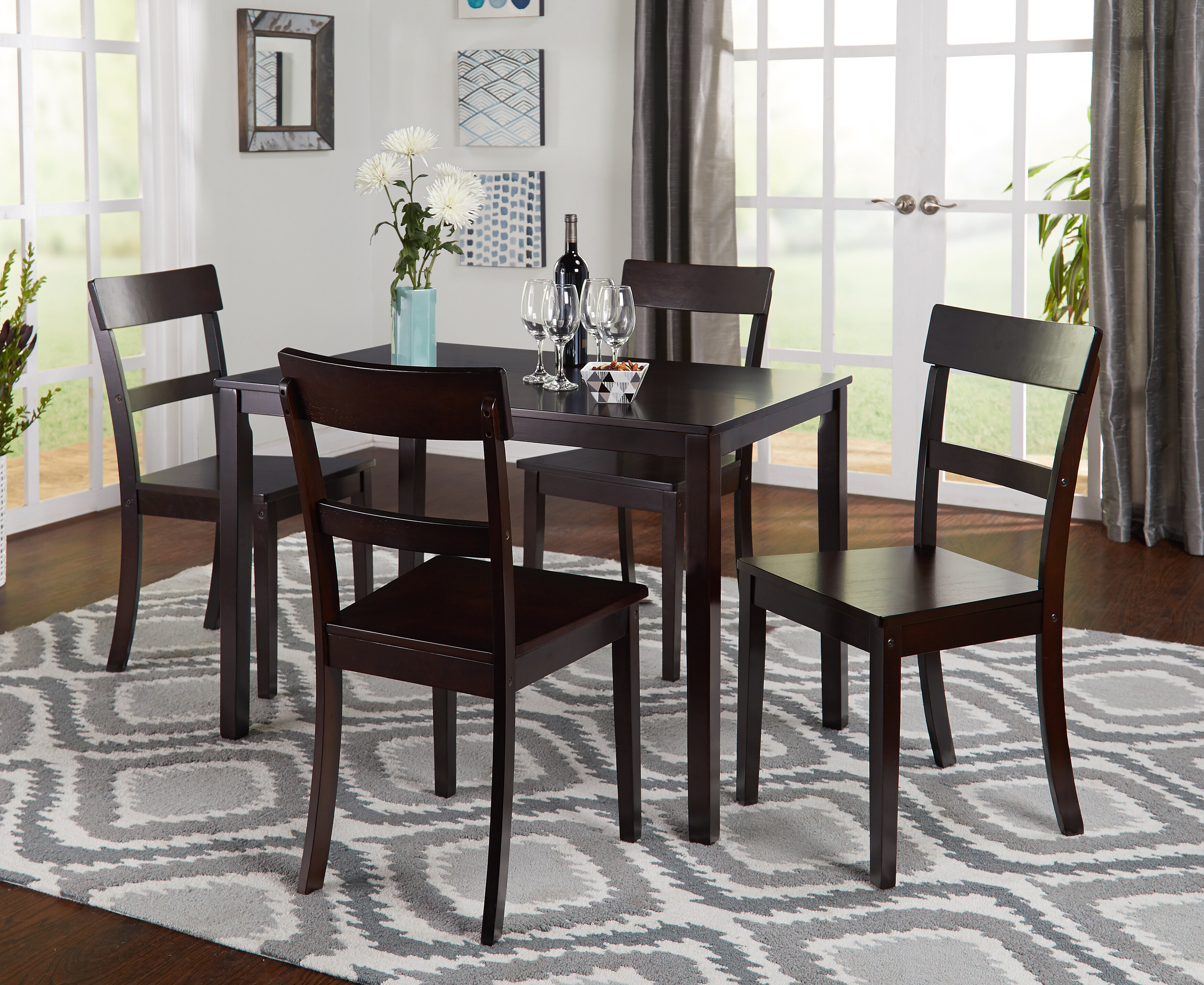 Solid Wood Kitchen & Dining Room Sets & Tables You'll Love in 2021