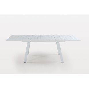 Latitude Run Mcroy Extendable Aluminum Dining Table