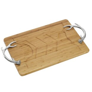 Antler Bamboo Carving Board