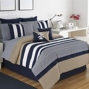 Classic Stripe Comforter Set by IZOD