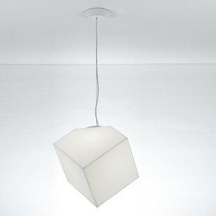 Artemide Edge 1-Light Geometric Pendant