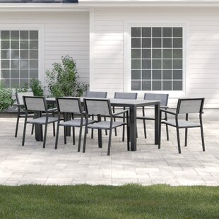 Windsor 9 Piece Outdoor Patio Dining Set