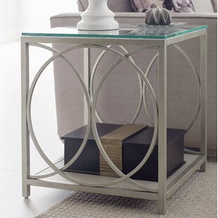 Bargain Cinema Glass Top End Table By Rachael Ray Home