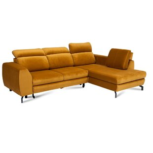 Dylon Reversible Corner Sofa Bed By George Oliver