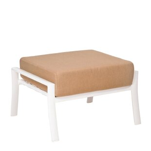 Fremont Ottoman with Cushions by Woodard