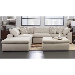 Kadence Reversible Modular Sectional with Ottoman