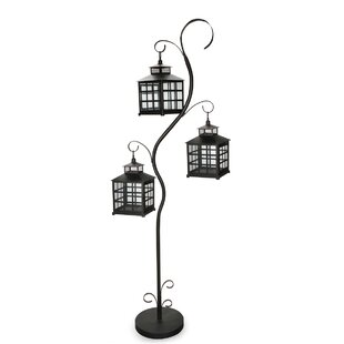August Grove Metal 4 Piece Lantern Set