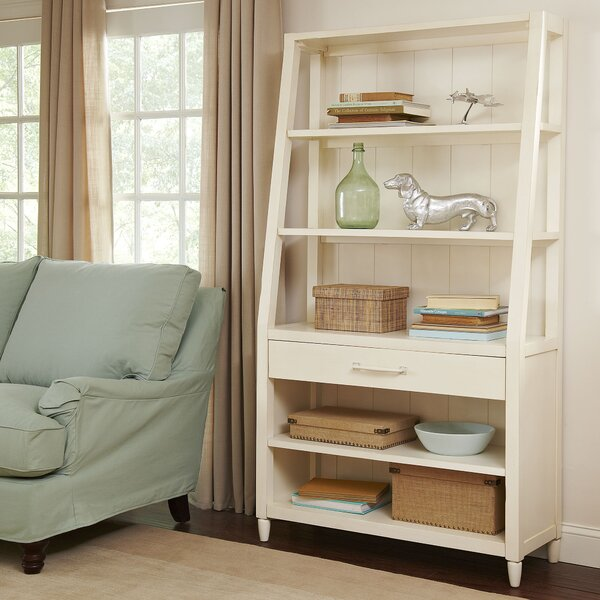 with bookcase concepts drawers drawer bookshelf file heritage white convenience ladder