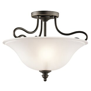 Haynes 2-Light Semi Flush Moun..